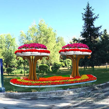 蘑菇花架,立体花架,定制花架