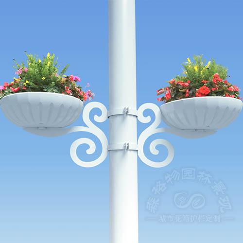 市政桥梁灯杆花盆