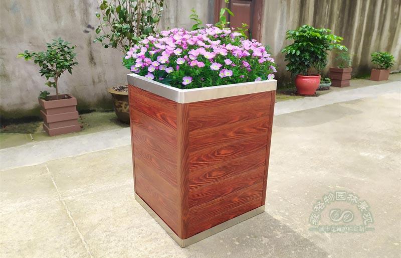 304不锈钢花箱,阳台种菜的新选择