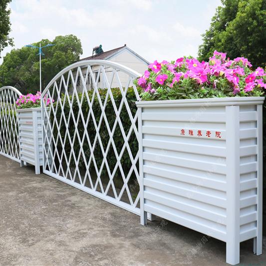 围墙栅栏铝合金花箱