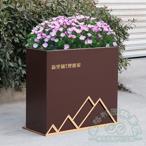 金线不锈钢定制花箱