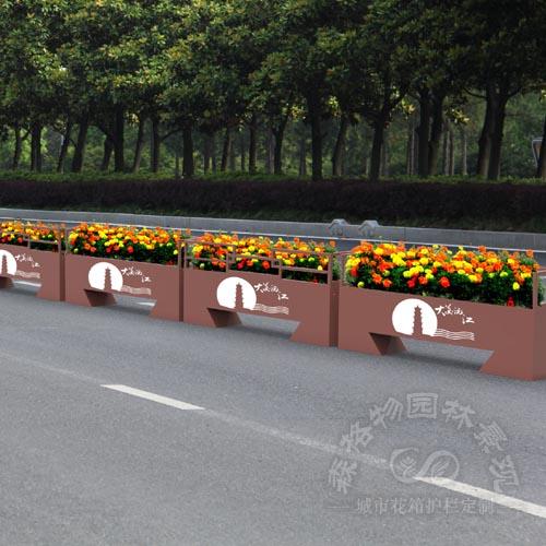 镀锌板旅游城市花箱