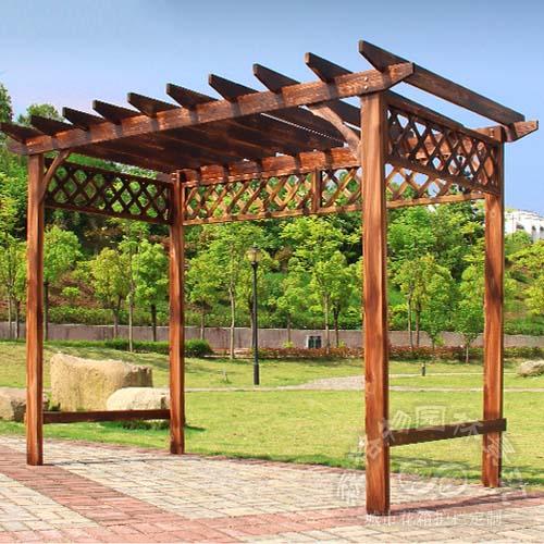 防腐木葡萄架廊架