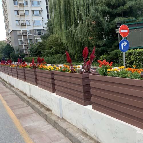 经典桥梁pvc隔离花