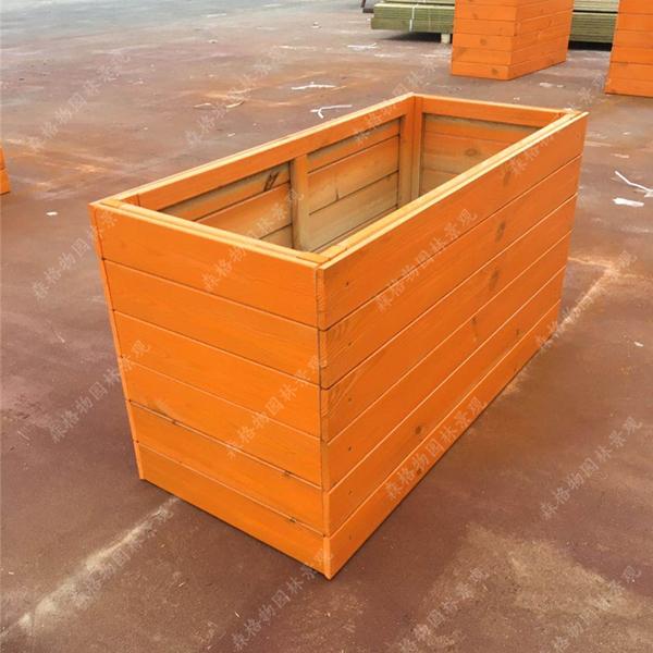 方形防腐木花箱