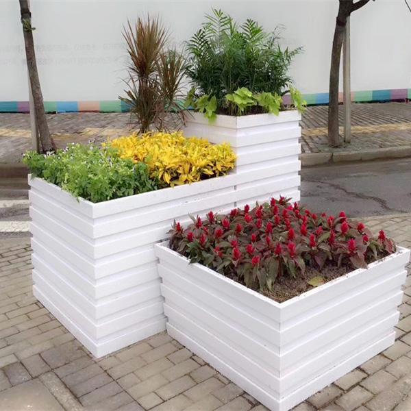 公园组合PVC花箱