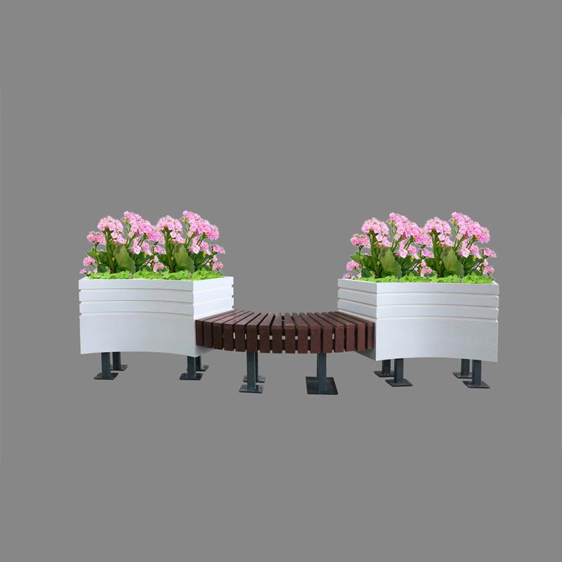 PVC花箱座椅