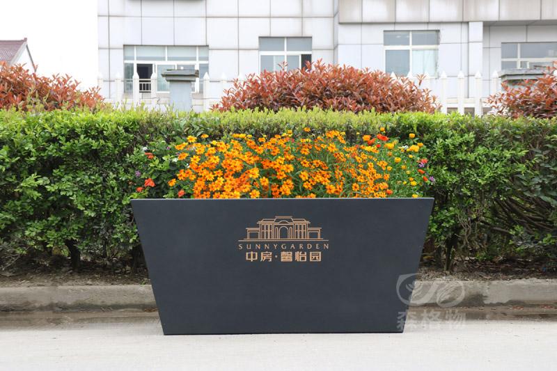中房房地产花箱案例