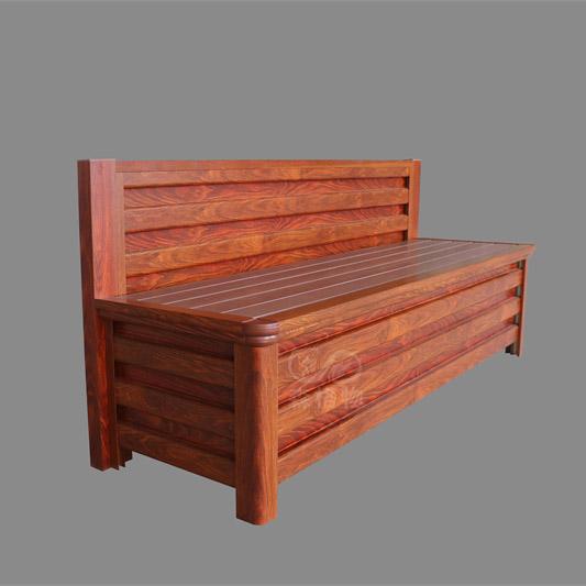 简易公园铝合金座椅