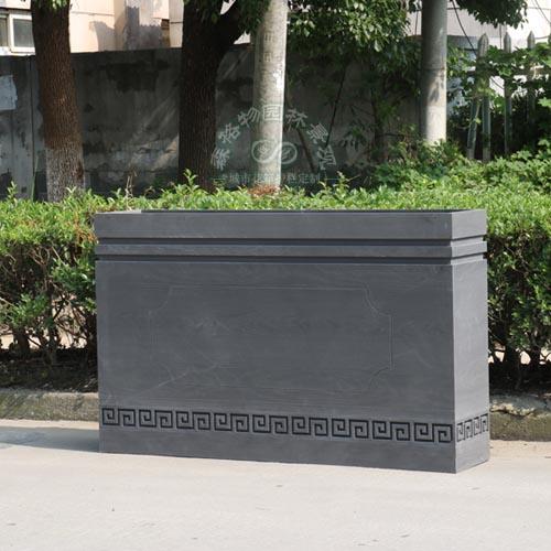 PVC道路花箱组合