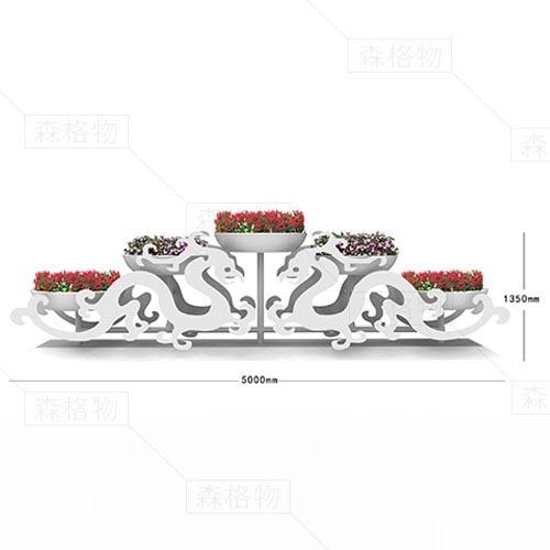 室外大型花架 『龙纹花架』
