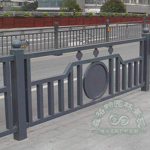 城市道路花箱锌钢护栏