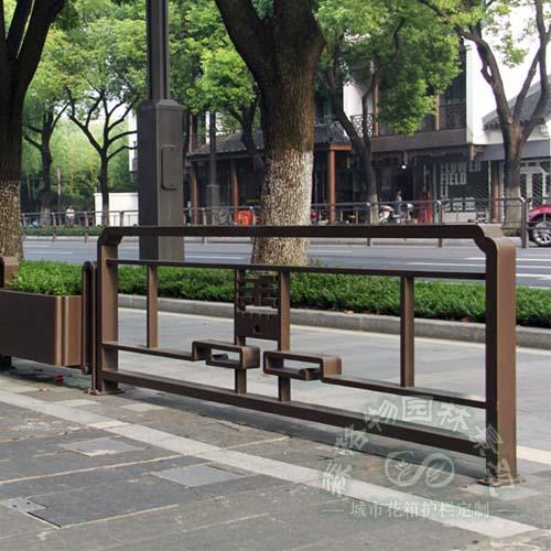 市政道路不锈钢花箱护栏