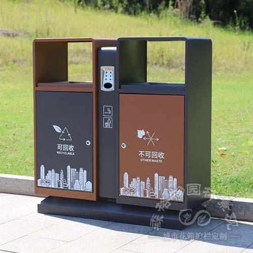城市风系列大底座垃圾箱