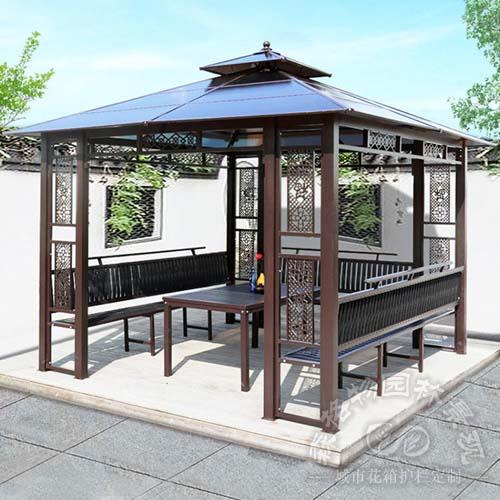 欧式铝合金园林庭院凉亭