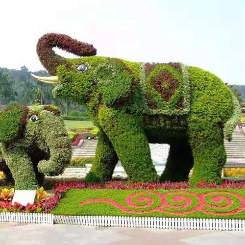 景观动物绿植雕塑花坛