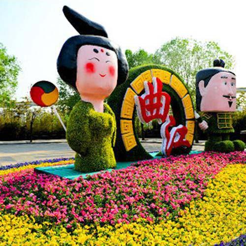 城市景观植物绿雕立体花坛