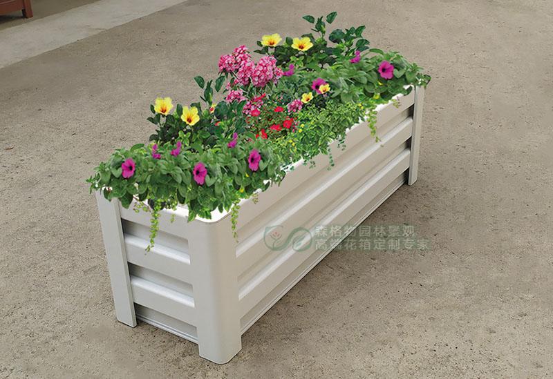 木纹铝合金花箱与塑木花箱的具体优势比较